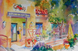 The Goods painting by Roberta Rogers