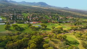 aerial view of Tubac