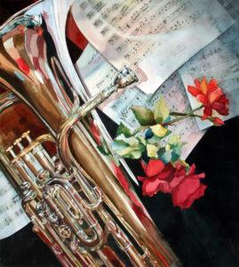 watercolor painting by Barbara Borgwardt