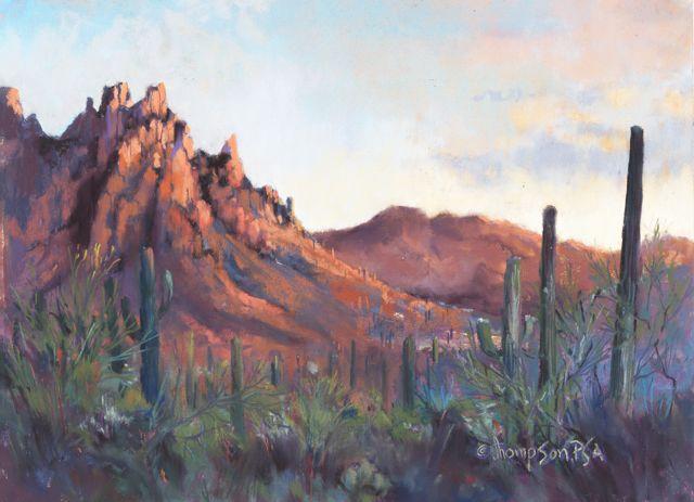 Jan Thompson Pastel Landscape